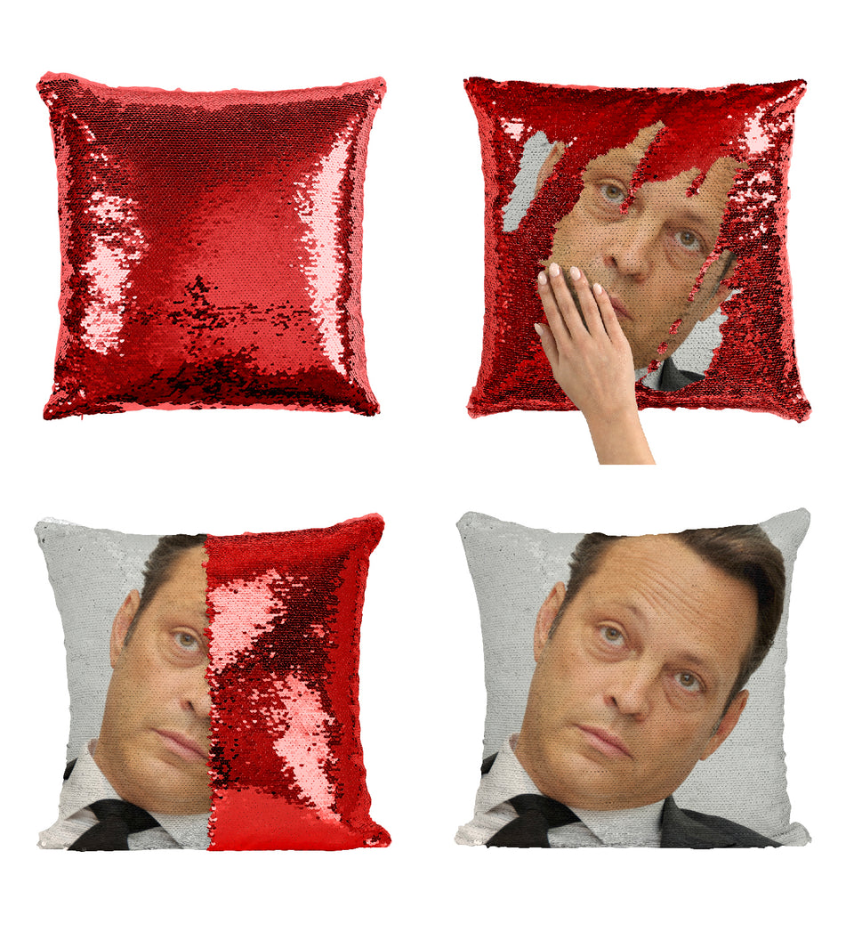 Vince Vaughn The Break Up Movie Actor_MA0365 Sequin Pillow