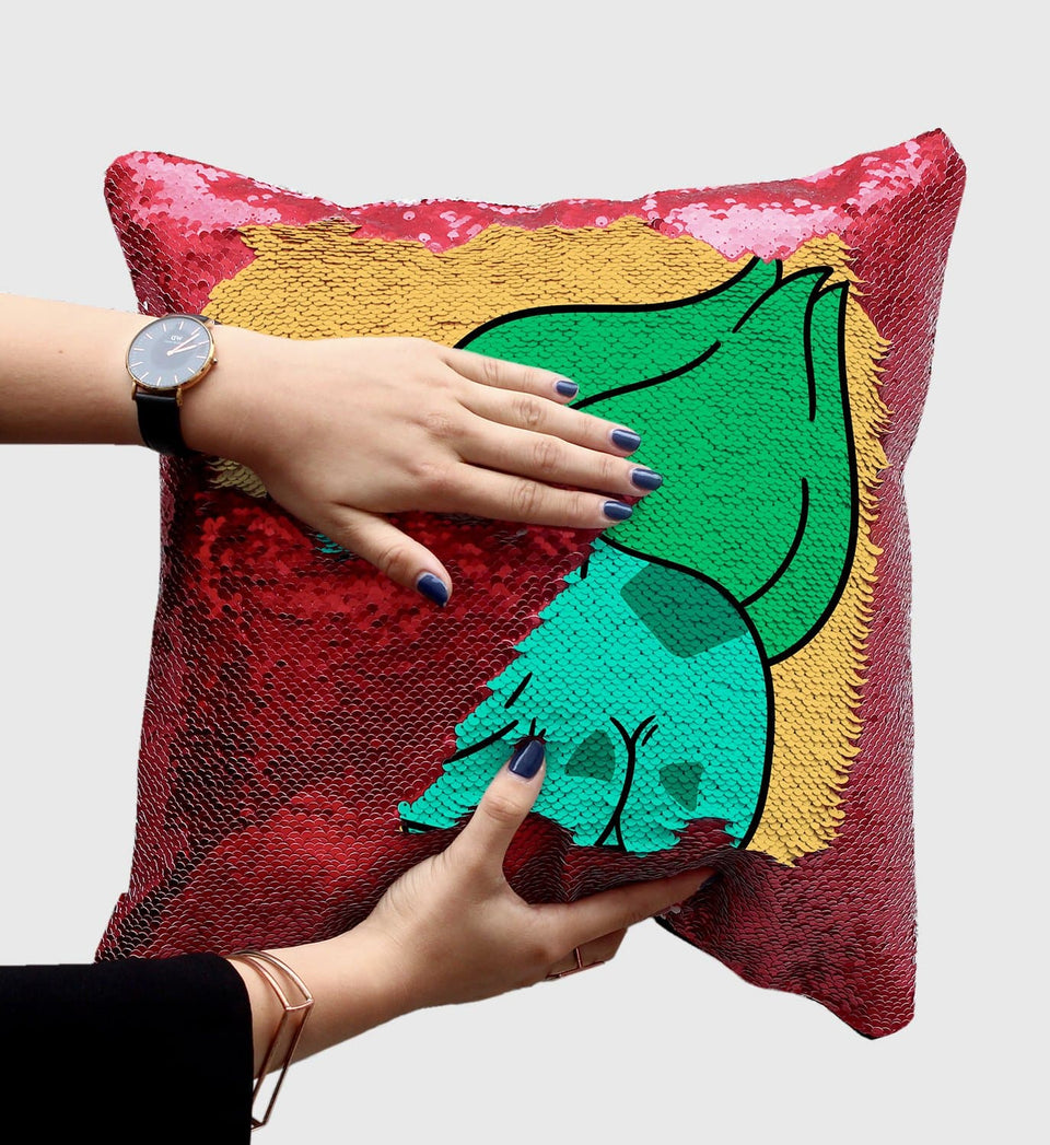 Alien Nicolas Cage Frog Monster | Magic Pillow