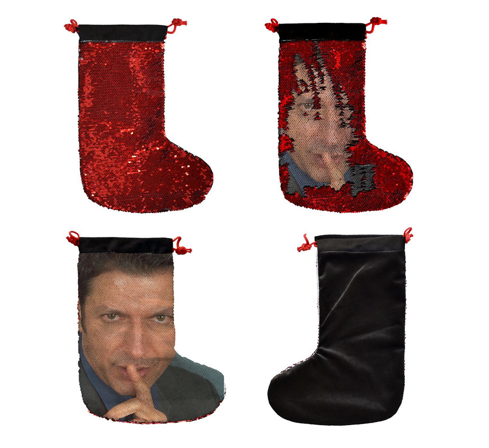 Jeff Goldblum Finger _SS0040 Gift Christmas Stocking