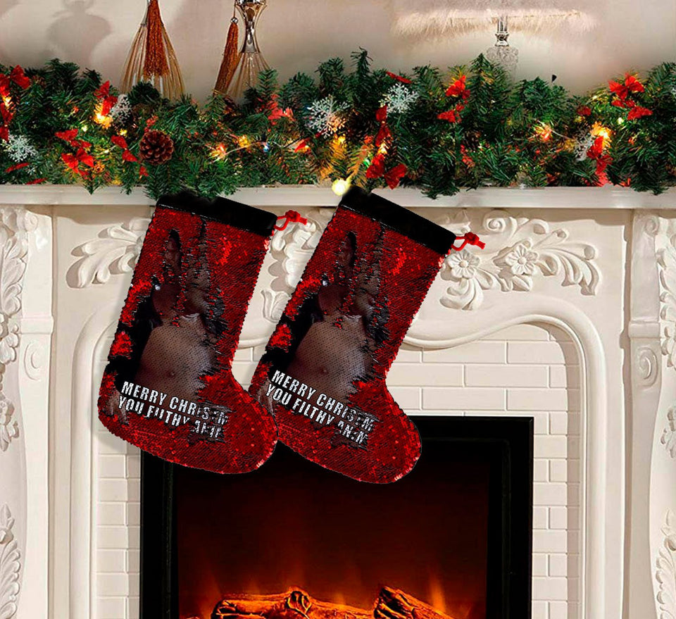 Merry Christmas Sexy Jeff Goldblum 2_SS0045 Gift Christmas Stocking