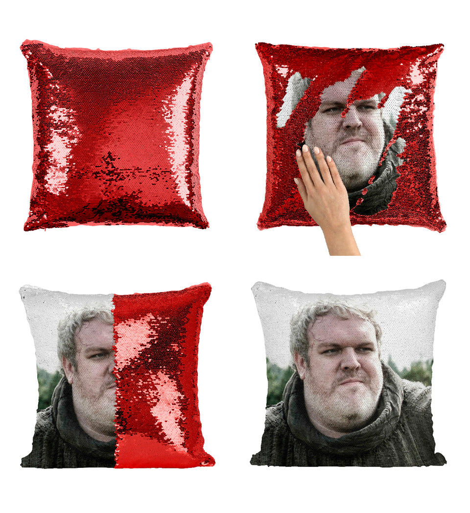 Hodor Happy Brave Got Character_MA0612 Game Of Thrones Sequin Pillow