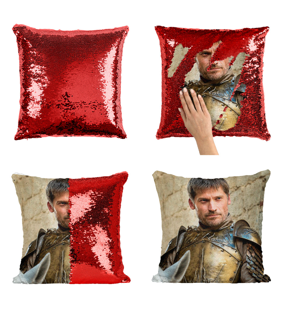 Jaime Lannister Tv Series Character Knight_MA0614 Game Of Thrones Sequin Pillow
