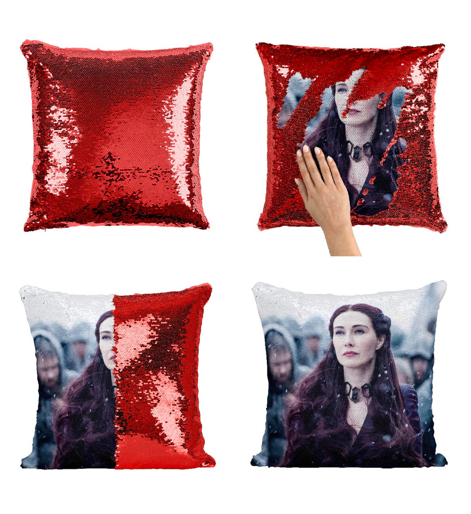 Melisandre The Red Witch Got Series_MA0617 Game Of Thrones Sequin Pillow