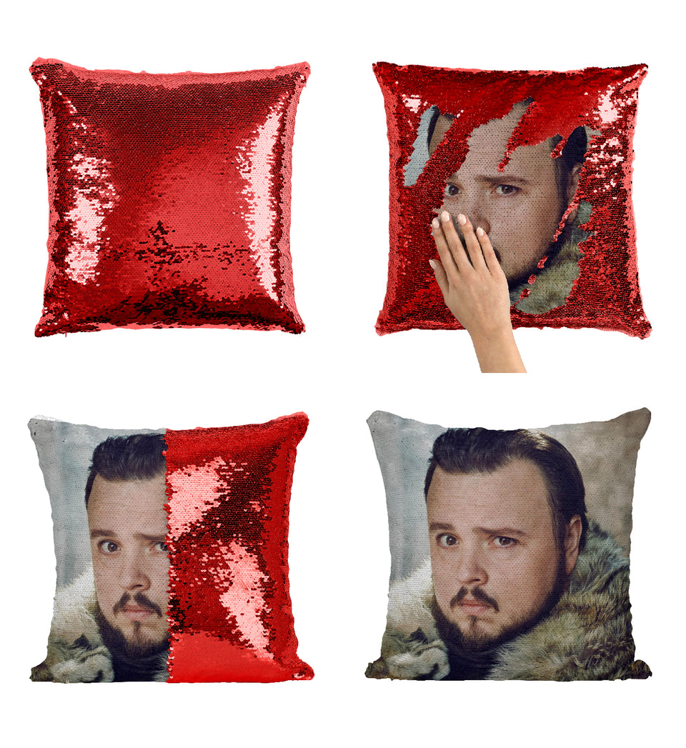 Nights Watch Samwell Tarly Jons Friend Got_MA0621 Game Of Thrones Sequin Pillow