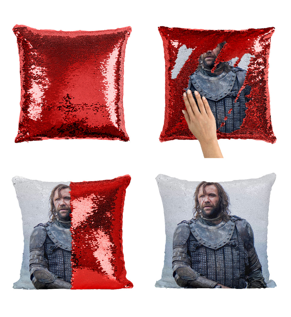 Rory McCann As The Houng Got Strong Worrior_MA0622 Game Of Thrones Sequin Pillow