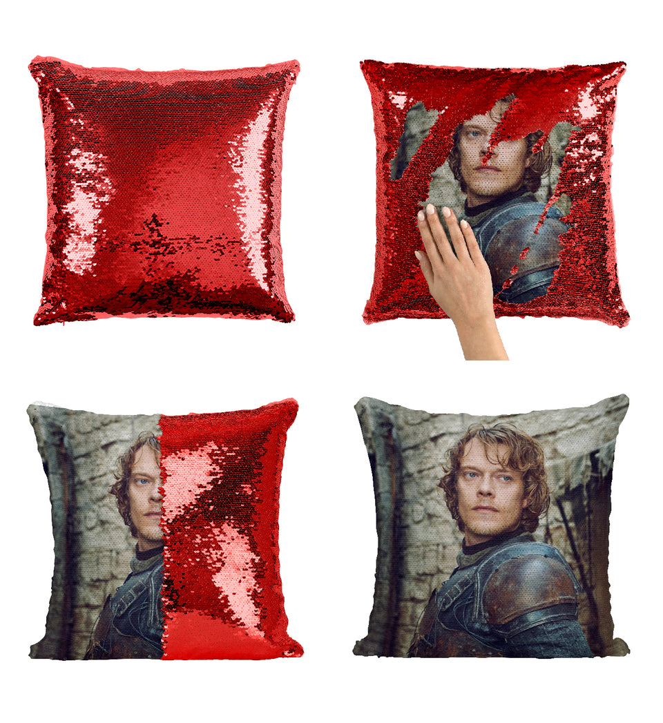 Theon Greyjoy The Iron Islands Got Character_MA0625 Game Of Thrones Sequin Pillow