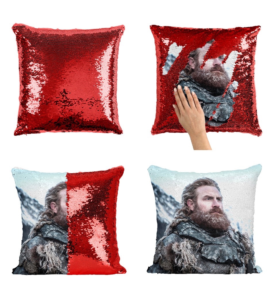 Tormund Giantsbane Wildlings Warrior Brave_MA0626 Game Of Thrones Sequin Pillow