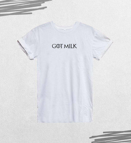 Game Of Thrones GOT Milk Funny Fan Quote_CFS0239