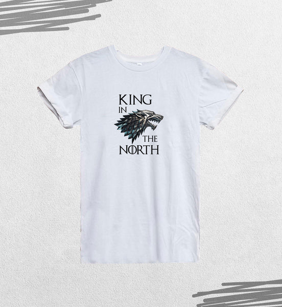 Game Of Thrones King In North Wolf Fan Quote_CFS0206