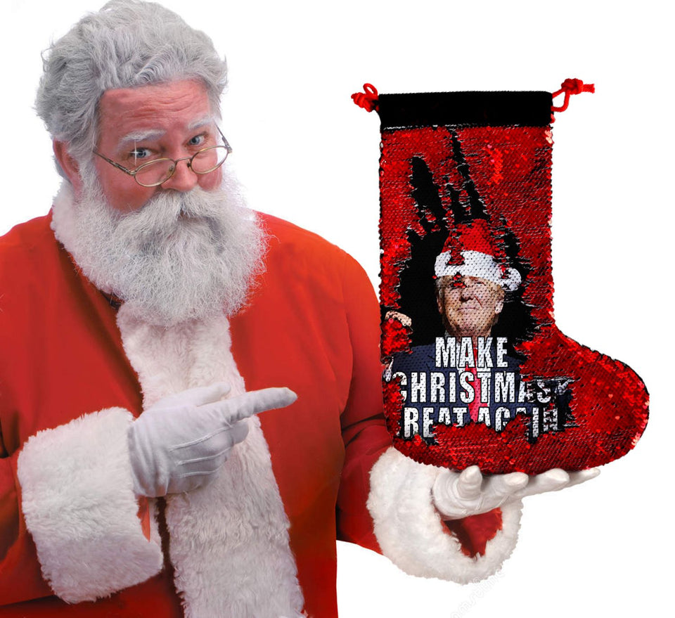 Make Christmas Great Again Trump_SS0042 Gift Christmas Stocking