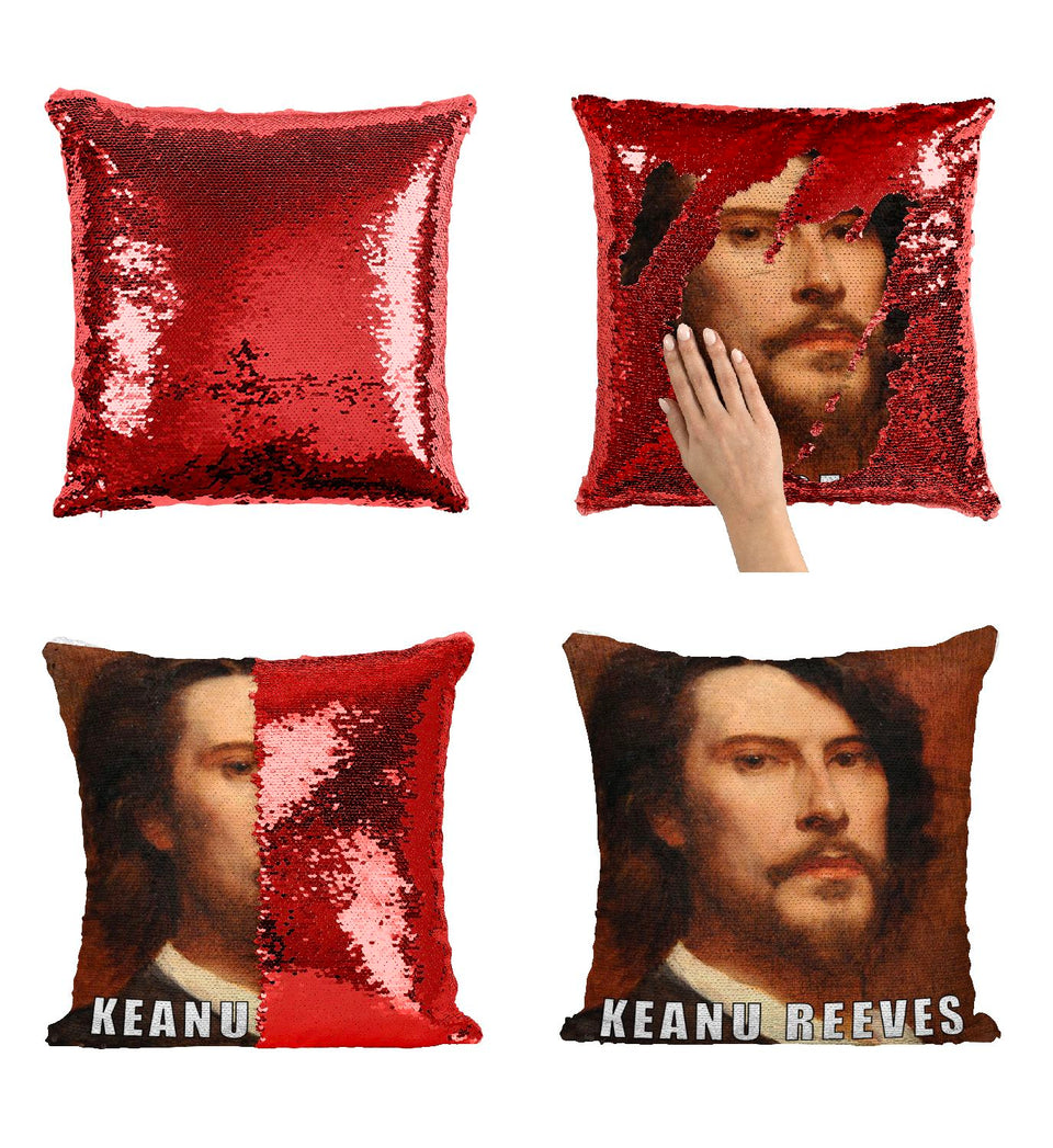 Keanu Reeves Immortal Renaissance Painting_P417 Pillow