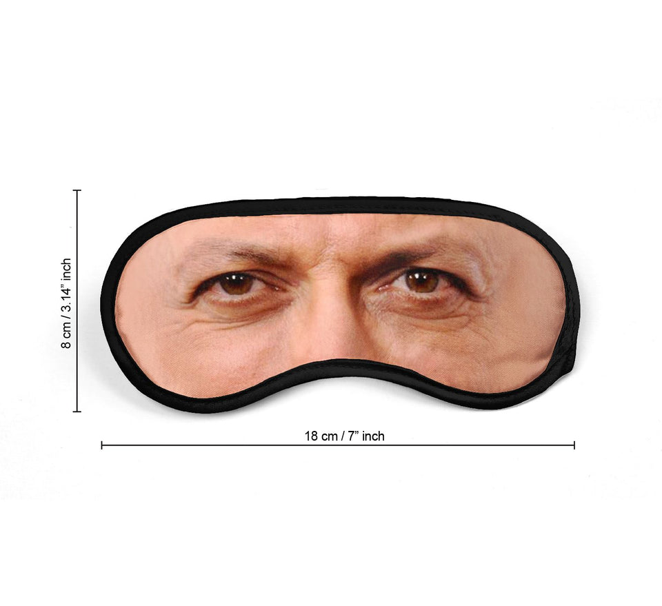 Jeff Goldblum Actor Eyes_SM003 Sleep mask, Sleeping Eye Masks, Traveling Accessories Women, Men, Kids, Soft Masks For Sleeping, Eye Cover For Travel, Funny Comfortable Blindfold