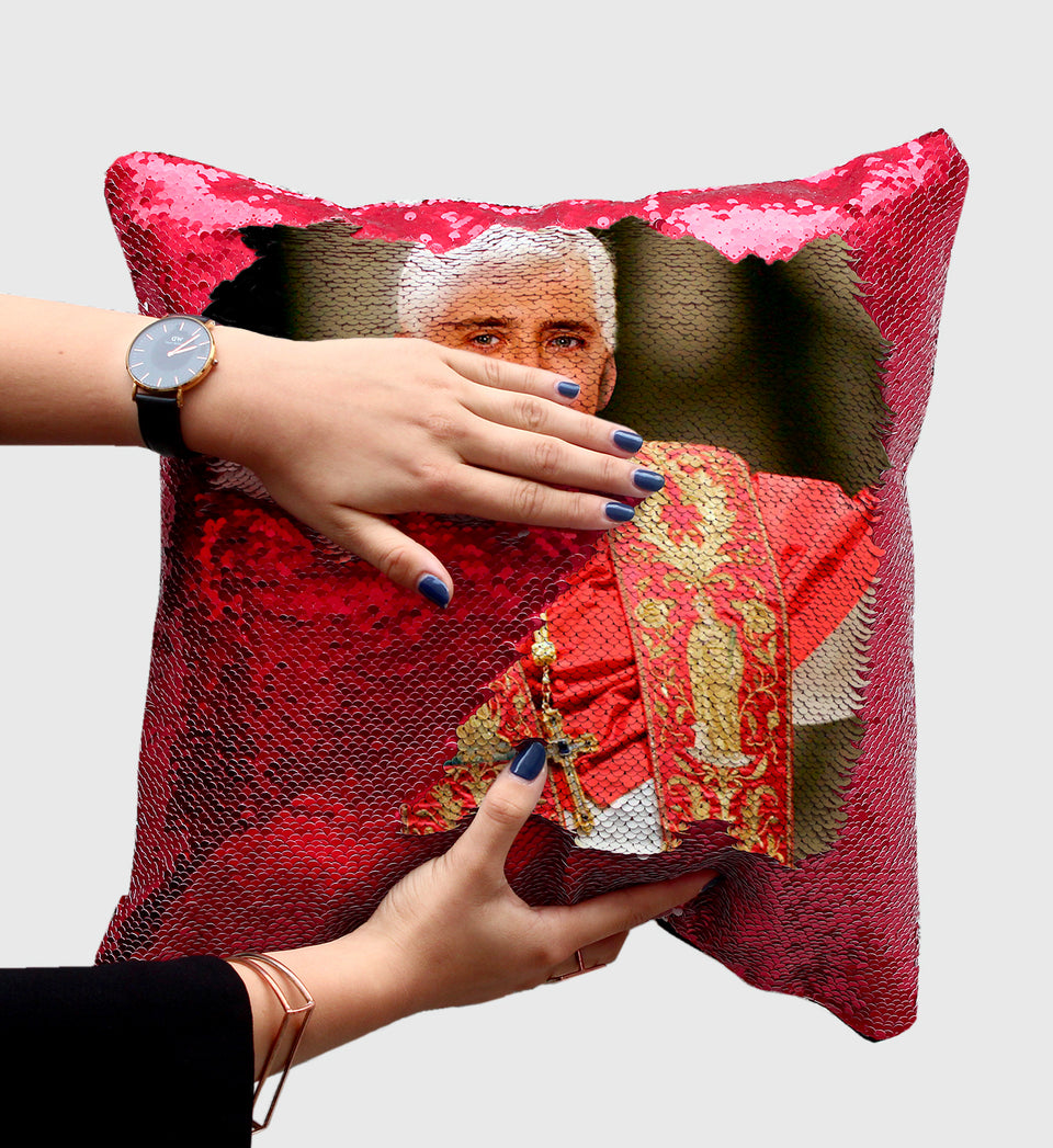 Nicolas Cage Catholic Pope | Magic Pillow
