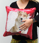 Nicolas Cage Cute Corgi | Magic Pillow