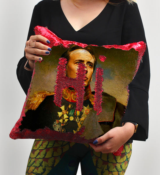 Nicolas Cage Napoleon Empire | Magic Pillow
