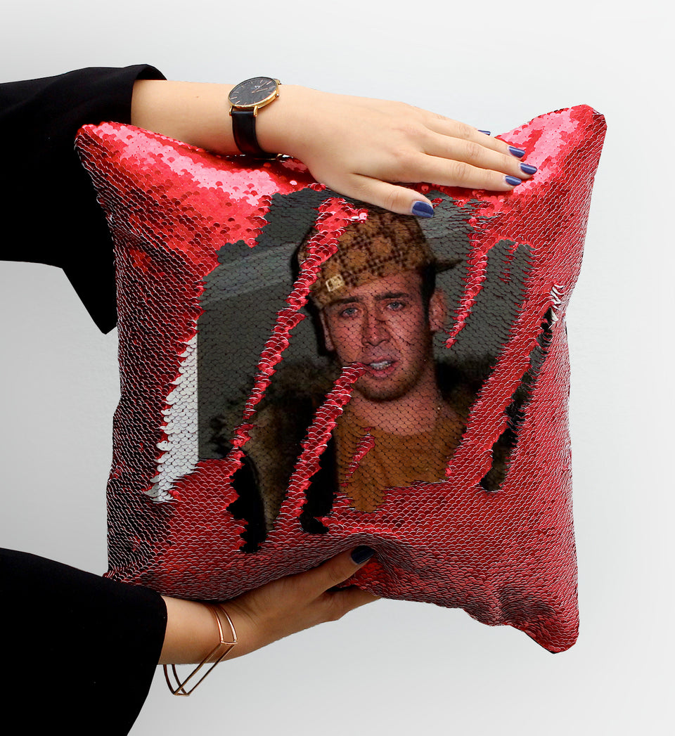 Nicolas Cage Rapper Gangsta | Magic Pillow