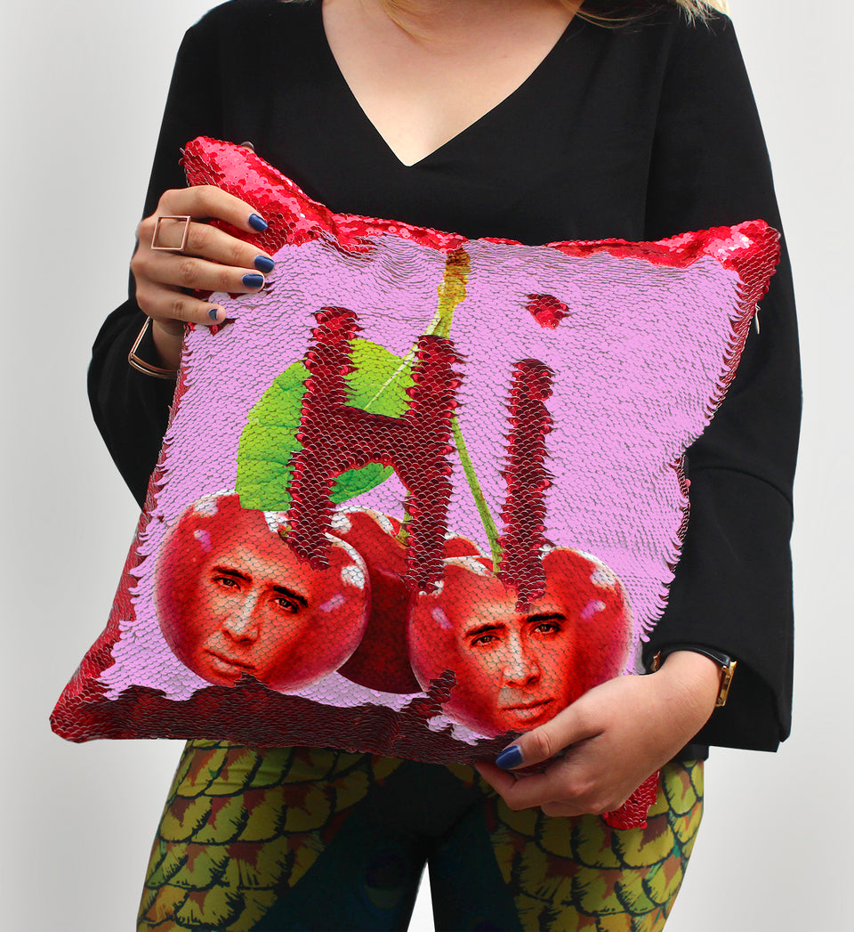 Nicolas Cage Romantic Cherry | Magic Pillow