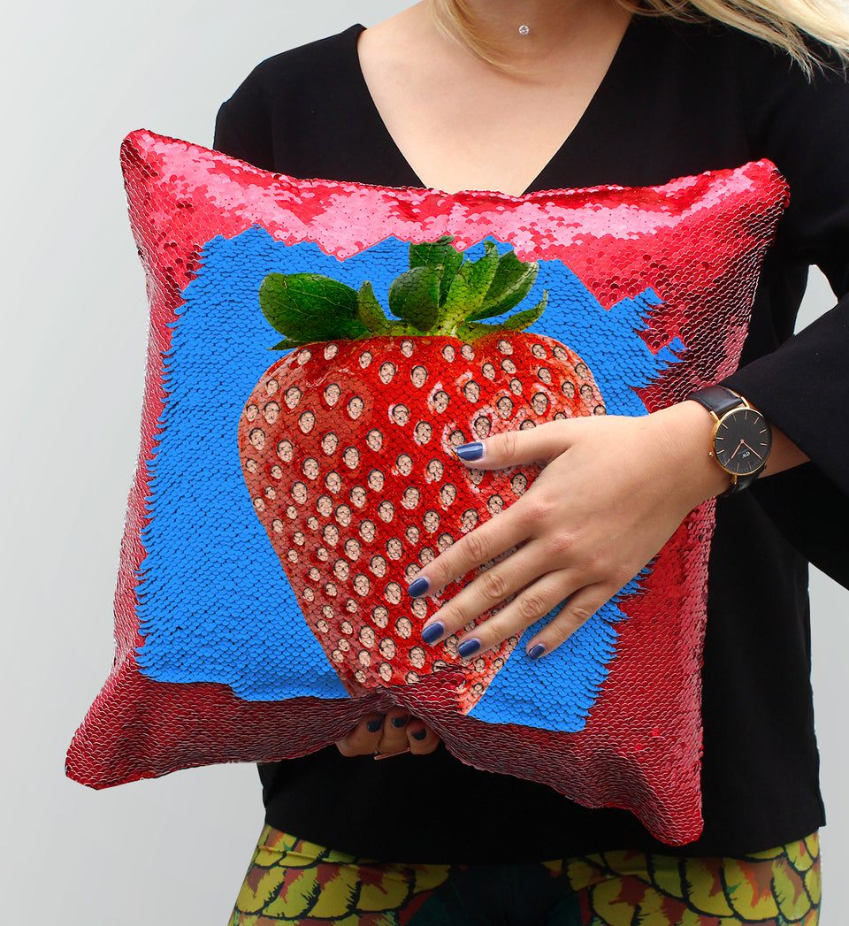 Nicolas Cage Strawberry Seed | Magic Pillow