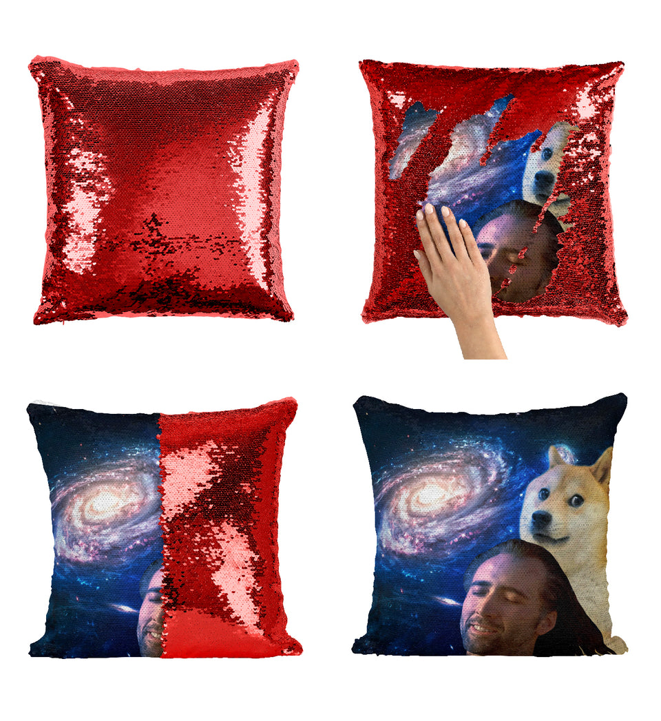 Nicolas Cage Universe Dog Funny | Magic Pillow