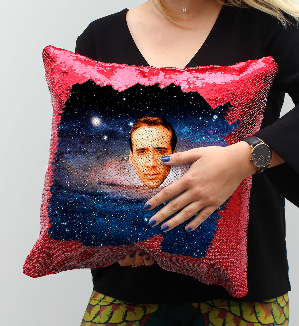 Nicolas Cage Universe Planet Sun | Magic Pillow
