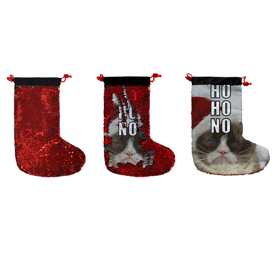 Christmas Grumpy Cat Meme_SS0011 Gift Christmas Stocking