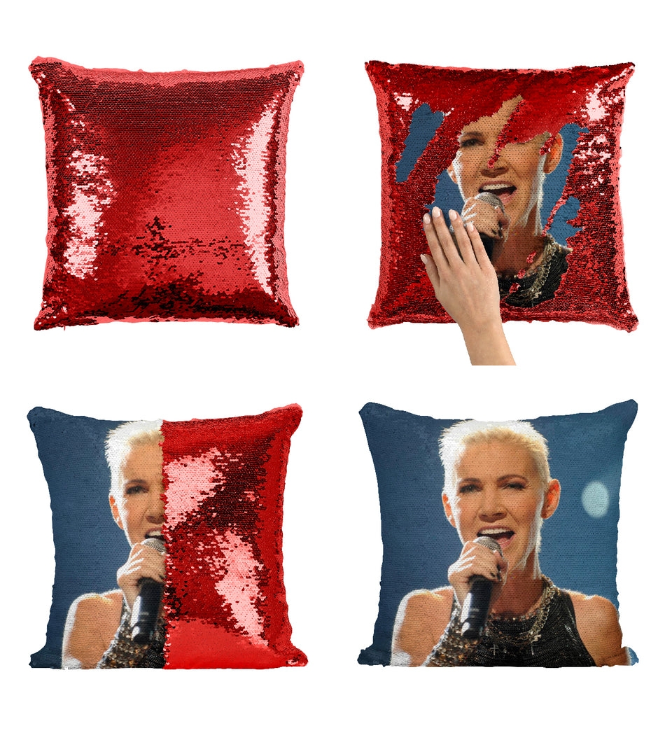 Roxette Sequin Pillow
