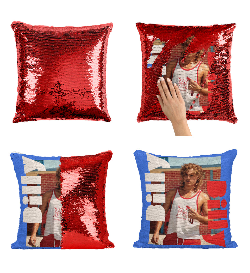 Billy Sexy Life Guard Dacre Montgomery_MA0650 Stranger Things Sequin Pillow