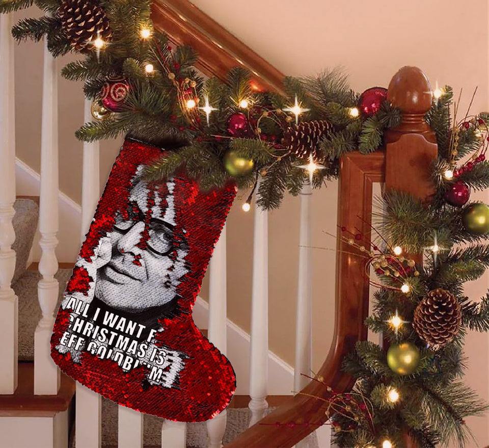Christmas Romantic Jeff Goldblum black_SS0018 Gift Christmas Stocking