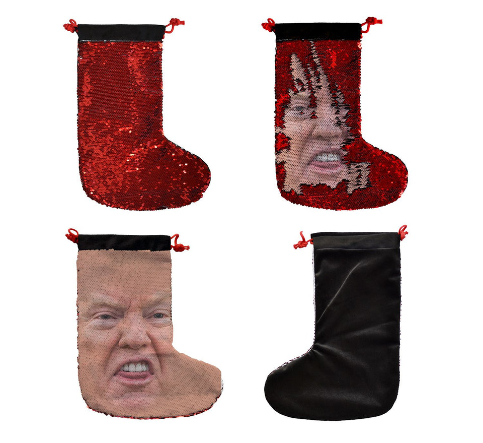 Donald Trump Face Gift_SS0032 Gift Christmas Stocking