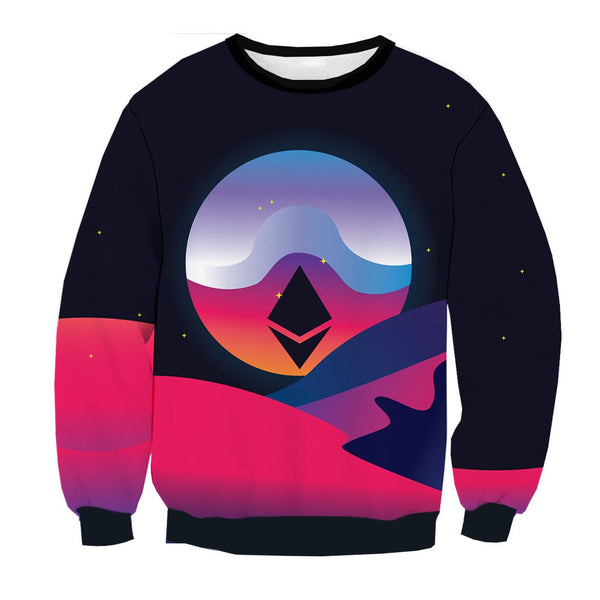Ethereum Space Sweatshirt ver1