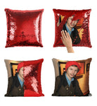 Michael Cera Pillow Sequin Pillow Funny Pillow