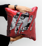 Jeff Goldblum Sequin Pillow, C18