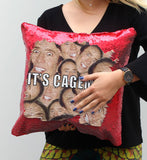 Cagemas Sequin Pillow, C05