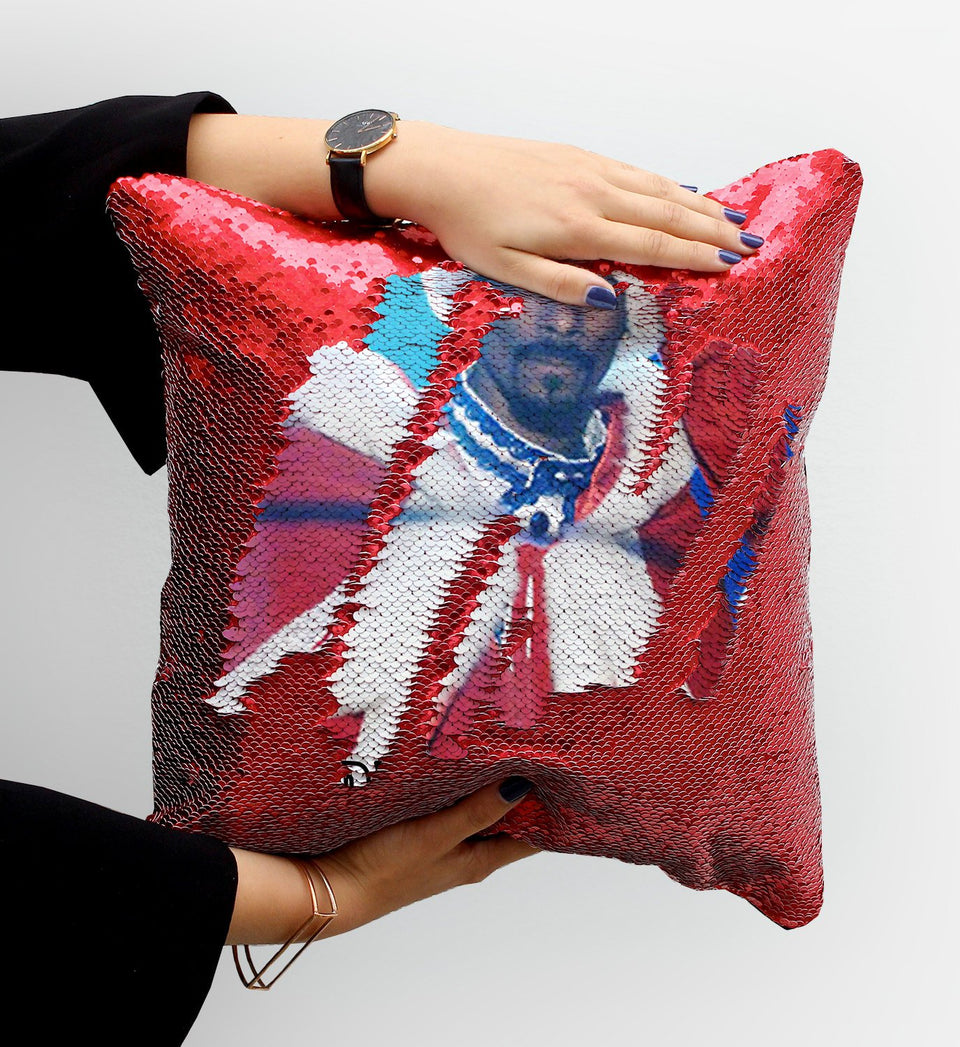 Snoop Dogg Sequin Pillow, C35