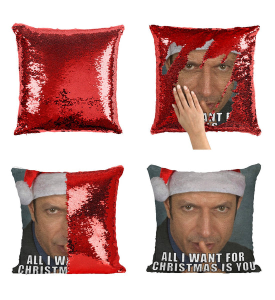 Jeff Goldblum Sequin Pillow, C13