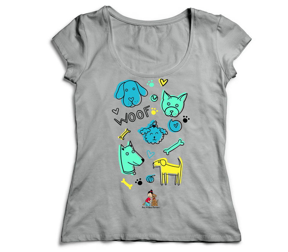 Women's T-Shirt | Pets Without Partners