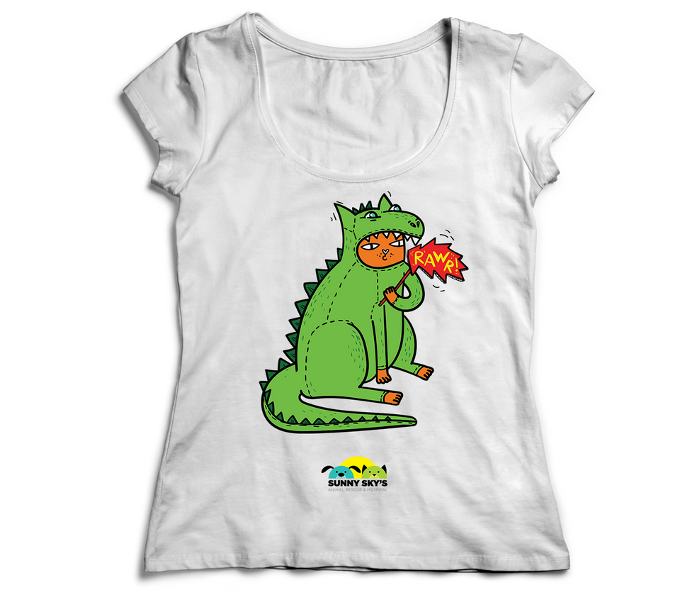 Women's T-Shirt | Sunny Sky Animal Rescue