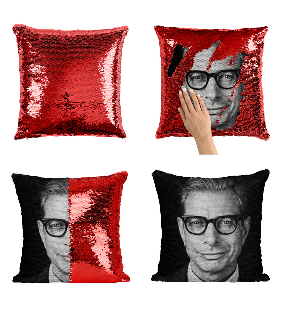 Jeff Goldblum Actor Sexy Look_MA0825 Sequin Pillow