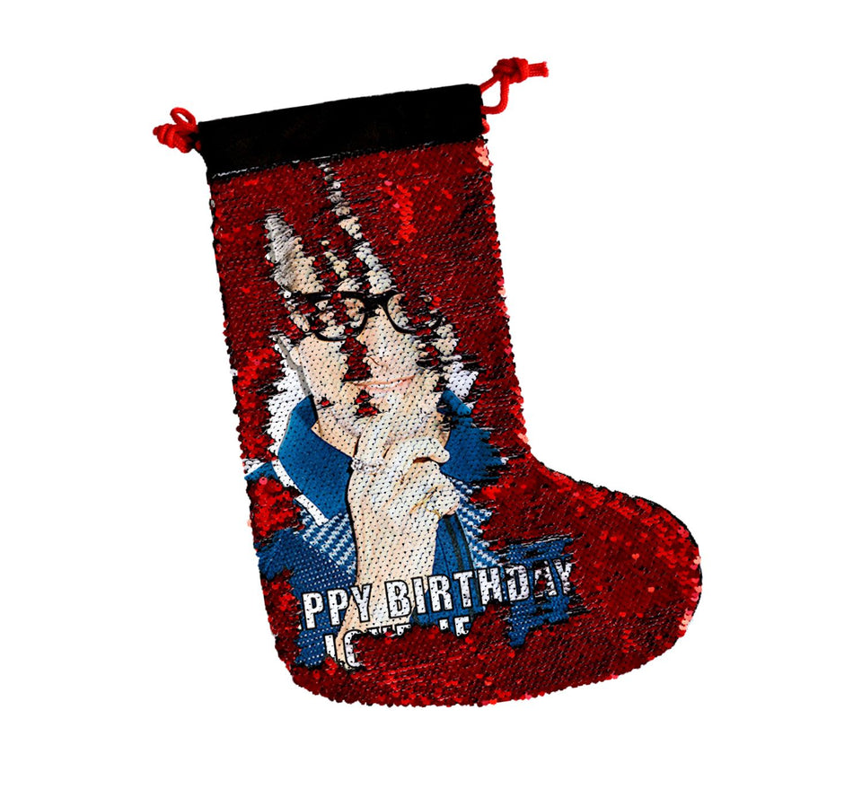 Jeff Goldblum_SS0041 Gift Christmas Stocking