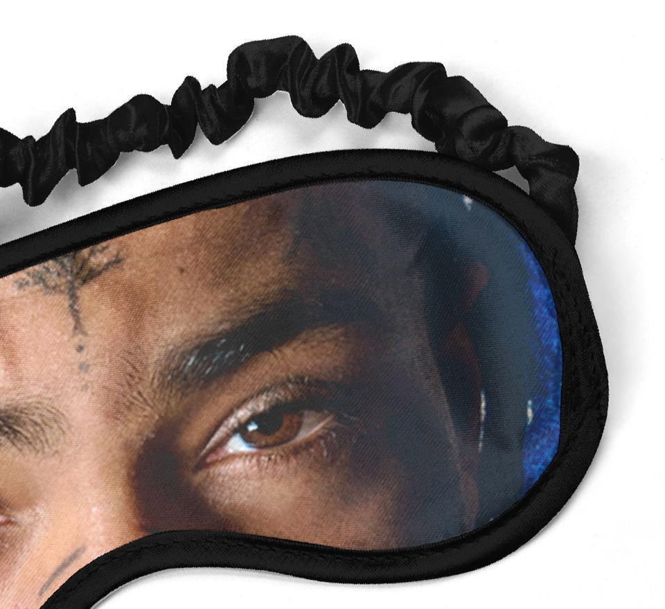 XXXTentacion Rapper Music_SM001 Sleep mask, Sleeping Eye Masks, Traveling Accessories Women, Men, Kids, Soft Masks For Sleeping, Eye Cover For Travel, Funny Comfortable Blindfold
