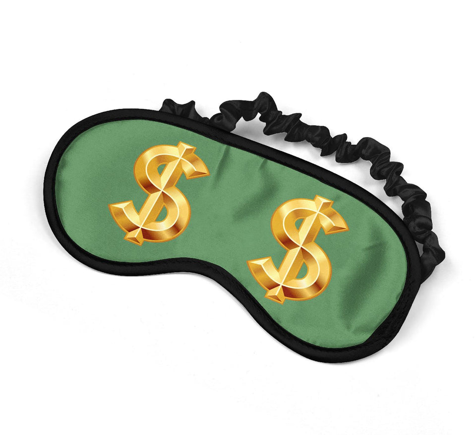 Gold Dollars Money Rich Bitch_SM025 Sleep mask, Sleeping Eye Masks, Traveling Accessories Women, Men, Kids, Soft Masks For Sleeping, Eye Cover For Travel, Funny Comfortable Blindfold