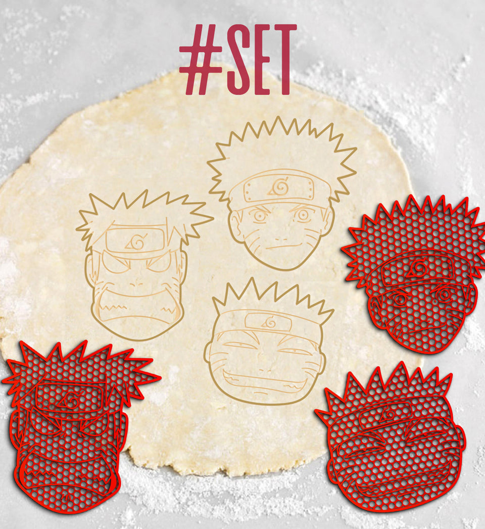 Exclusive Naruto Cookie Cutters