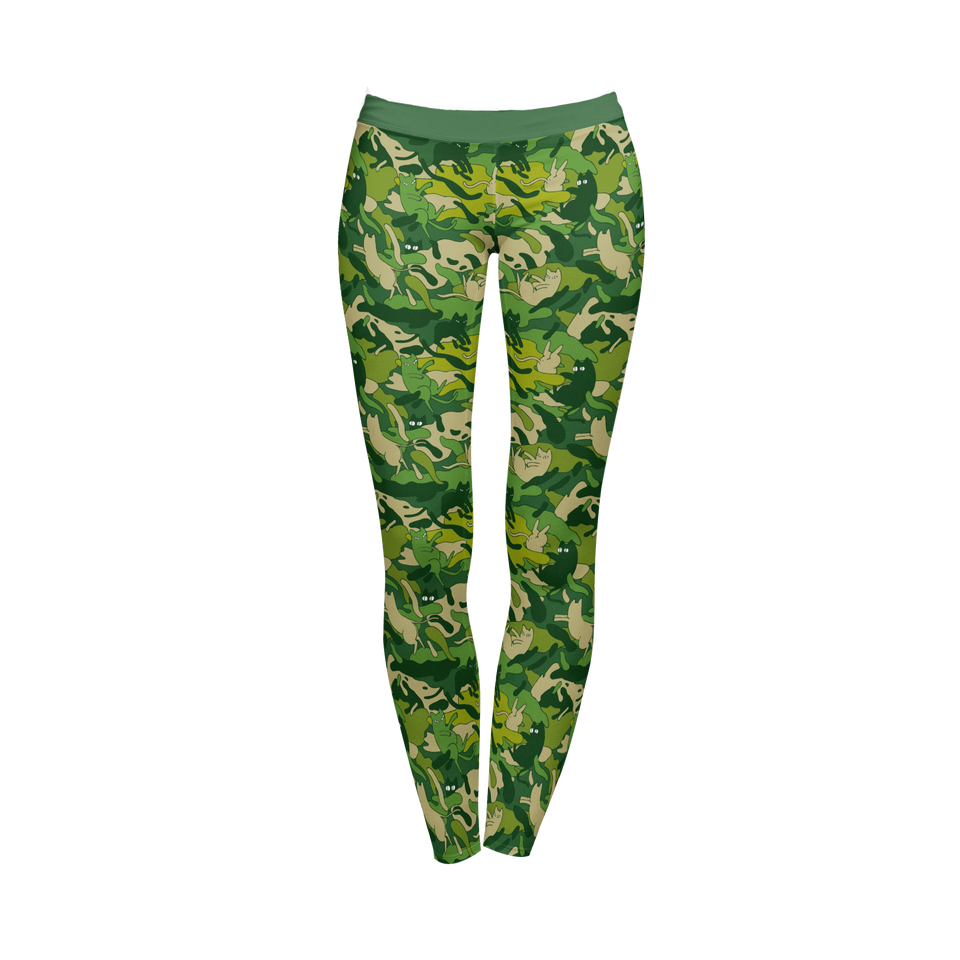Full-Print Leggings | TekleUla Art
