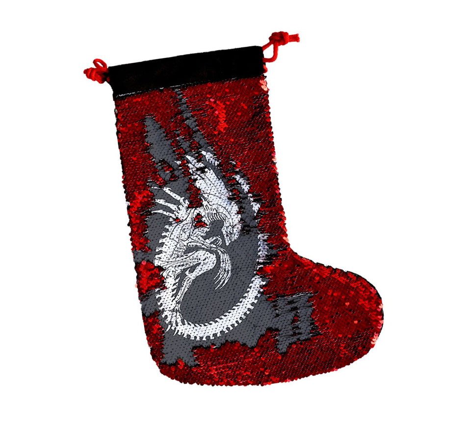 Bones Xenomorph Alien_SS0005 Gift Christmas Stocking