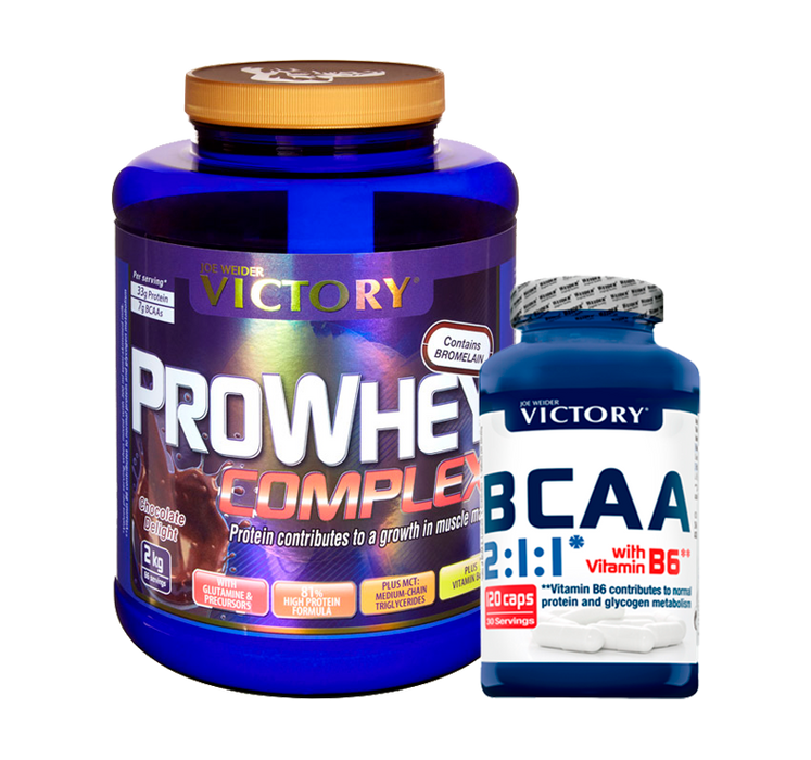 Combo - Pro Whey Complex + BCAA
