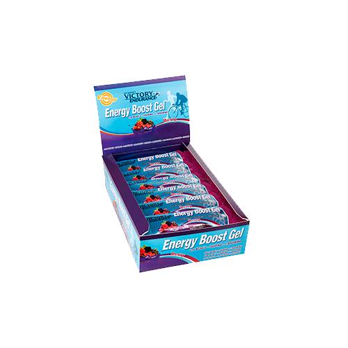 Energy Boost Gel - 24 Unidades