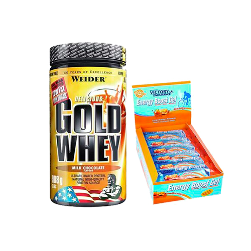 Running & Ciclismo - Gold Whey +  Energy Boost