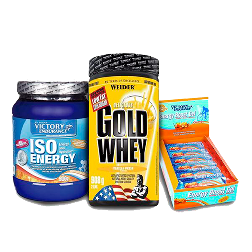 Running & Ciclismo - Gold Whey + ISO Energy + Energy Boost