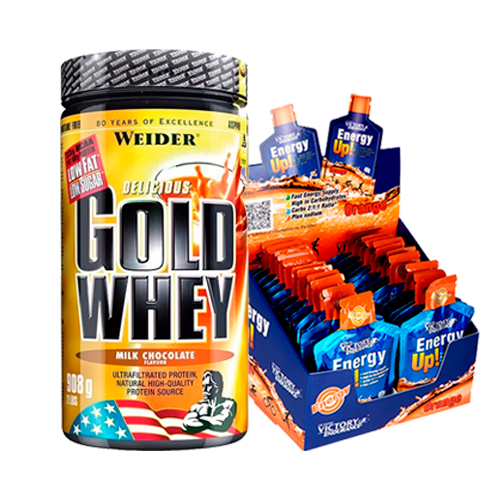 Combo - Gold Whey + Energy Up