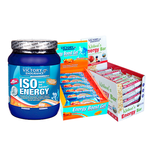 Running & Ciclismo - ISO Energy + Boost + Energy Bar